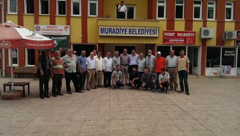 ABDURRAHİM ALBAYRAK'TAN BAŞKANIMIZA ZİYARET